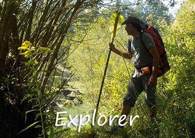 Explorer Packraft Touren mit Packraft-Schweiz