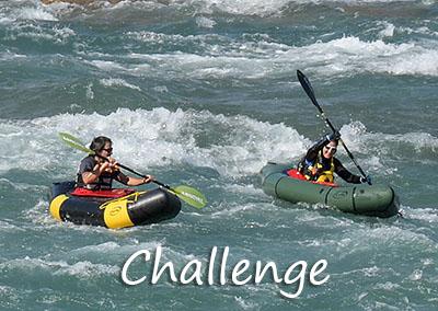 Challenge Packraft-Touren mit Packraft-Schweiz