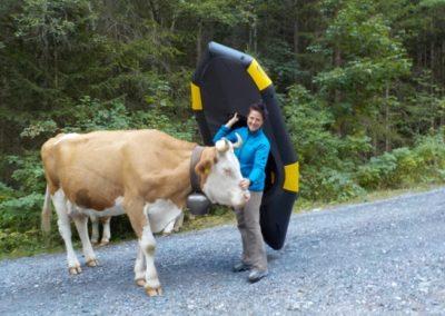 Unterwegs im einsamsten Tal der Schweiz mit Packraft Schweiz