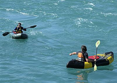 Packraft Schweiz - Einsteigerkurse See und Fluss